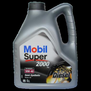 MOBIL SUPER 2000 X1 DIESEL 10W40  4L
