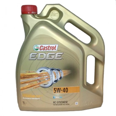 CASTROL EDGE TITANIUM 5W40 5L