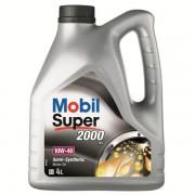 Моторно масло - MOBIL SUPER 2000 X1 10W40 4L