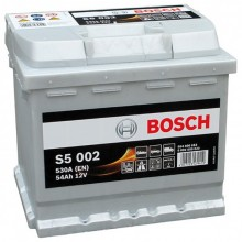 Акумулатор - 54AH 530a  BOSCH SILVER S5
