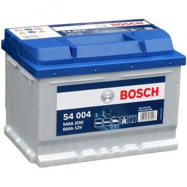 Акумулатор - 60AH 540a  BOSCH SILVER S4