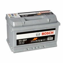 Акумулатор - 74AH 750a  BOSCH SILVER S5