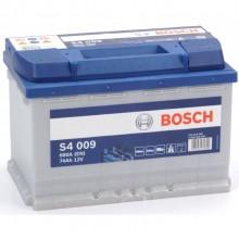 Акумулатор - 74AH 680a  BOSCH SILVER S4