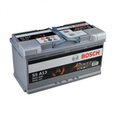 Акумулатор - 95AH 850a AGM  BOSCH SILVER S5A